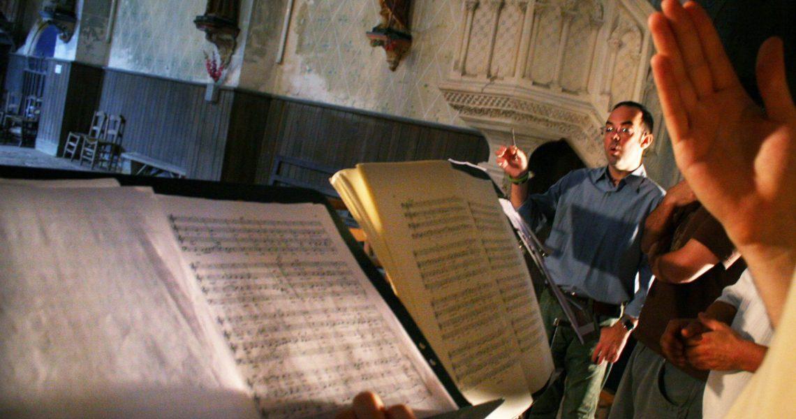 Scandicus en création des Lamentations de Festa (2007)